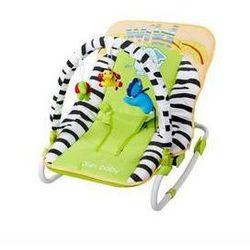 Leżaczek dla dzieci Sun Baby Safari green Zielone
