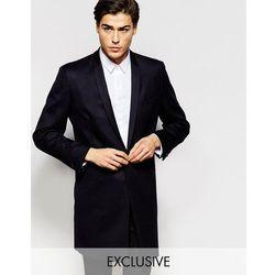 Hart Hollywood by Nick Hart 100% Wool Overcoat - Black