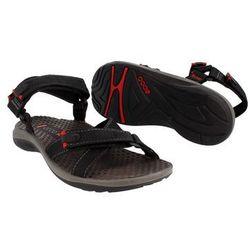 """Sandały Ecco Nirvana Textile/Textil męskie niskie 3"""" black/grey - 68914-00001"""