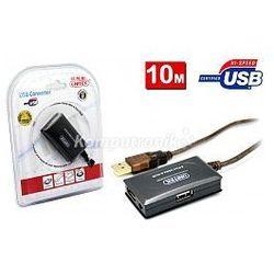 Przedłużacz aktywny Hi-Speed USB 2.0 10m + hub Unitek