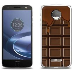Fantastic Case - Lenovo Moto Z Force - etui na telefon Fantastic Case - tabliczka czekolady