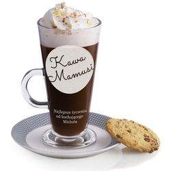 Grawerowana szklanka do Latte SKL02