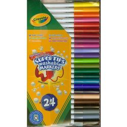 Flamastry Crayola zmywalne 24 sztuk