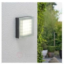 Stylowa zewnętrzna lampa ścienna LED HEDDI