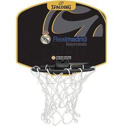 Mini tablica SPALDING Real Madryt Baloncesto z piłką