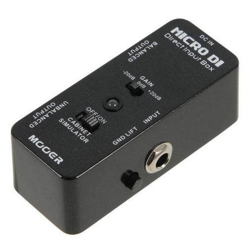 Mooer MDI1 Micro DI Direct Input Box