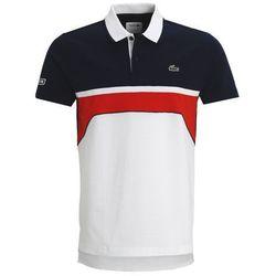 Lacoste Sport Koszulka polo white/navy blue/corrida