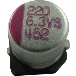 Kondensator elektrolityczny SMD PVS686M016S0ANEA4K 68 µF 16 V/DC 10 % (ØxW) 6.3 mmx5.8 mm 1 szt.