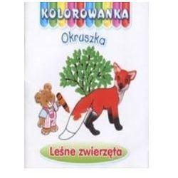 Leśne zwierzęta. Kolorowanka Okruszka - Anna Wiśniewska