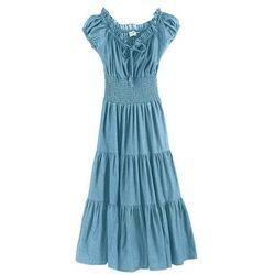 Sukienka letnia bonprix jasnoniebieski