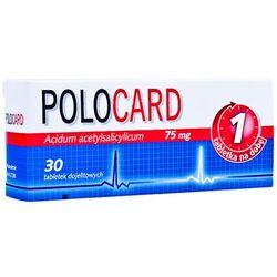 Polocard 75 mg x 30 dojelitowych tabletek powlekanych