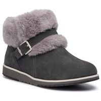Buty EMU AUSTRALIA - Oxley Fur Cuff W11698 Dark Grey