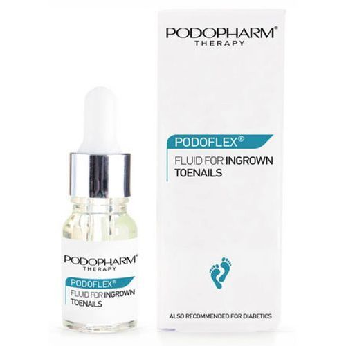 Podopharm PODOFLEX FLUID FOR INGROWN TOENAILS AND CALLUSES Fluid na wrastające paznokcie i modzele (10 ml)