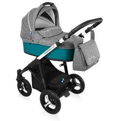 Baby Design, Wózek wielofunkcyjny, Husky New Turquoise Darmowa dostawa do sklepów SMYK