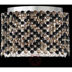 Lampa wisząca LED Refrax, kryształy Swarovskiego