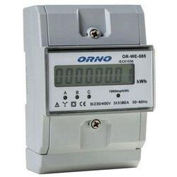 3-fazowy wskaźnik energii elektrycznej, 80A ORNO