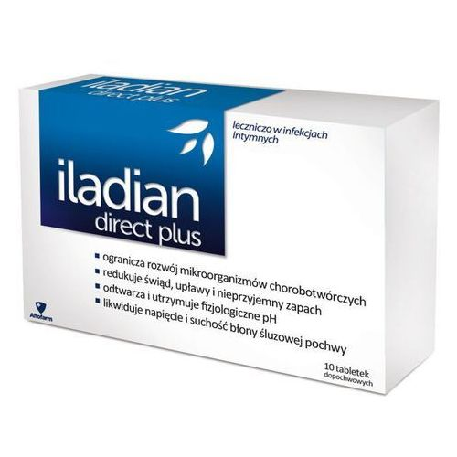 Iladian direct plus x 10 kaps.dopochw.