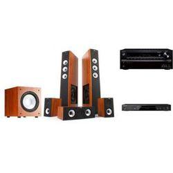 ONKYO TX-NR545 + BD-SP353 + JAMO S628HCS + J10 - Kino domowe - złóż własny zestaw na stronie