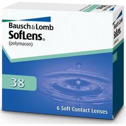Soczewki Bausch&Lomb Soflens 38 6 sztuk