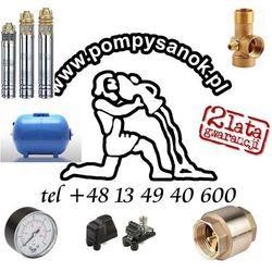Zestaw głębinowy Pompa SKM 100 230V ze zbirnikiem hydroforowym 50l + akcesoria