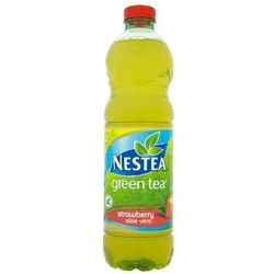 NESTEA 1,5l Zielona herbata Truskawkowa z aloesem napój niegazowany