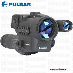 Cyfrowa nasadka noktowizyjna PULSAR FORWARD DN55 + OKULAR 10x na lunety lornetki 42, 50, 56mm
