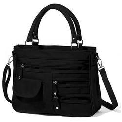 edf22f8a0a7de czarna torebka z kieszeniami w stylu pippy middleton w kategorii ...