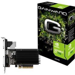 Karta graficzna Gainward GeForce GT 720, 2GB DDR3 (64 Bit), HDMI, DVI, VGA, SilentFX, BOX (426018336-3309) Darmowy odbiór w 18 miastach!