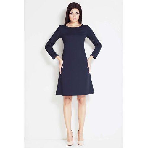 df1a6dfc1f Skromna Sukienka z Długim Rękawem - porównaj zanim kupisz