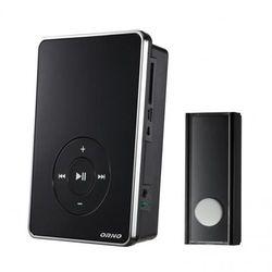 Dzwonek bezprzewodowy FOLK DC, bateryjny z learning system, MP3 200m ORNO