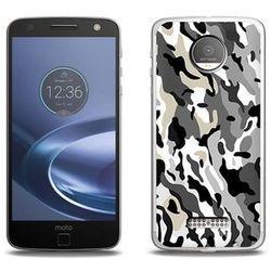 Fantastic Case - Lenovo Moto Z Force - etui na telefon Fantastic Case - szare moro