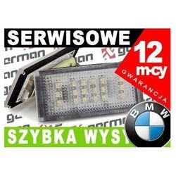Lampka oświetlenia tablicy rejestracyjnej BMW E46