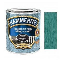 Farba Prosto Na Rdzę - Efekt Młotkowy Zielony 0,7L Hammerite