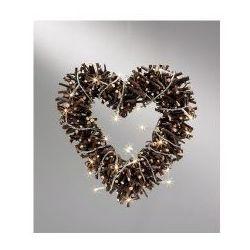 Nyhem serce brązowe ozdoba 8416-200 Markslojd