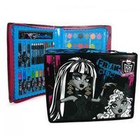Zestaw przyborów szkolnych w walizce Monster High 44el.