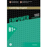 Cambridge English Empower Intermediate Workbook Without Answ (opr. miękka)