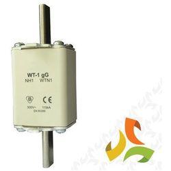 Wkładka topikowa zwłoczna gg WT-1 100A, bezpiecznik przemysłowy ETI