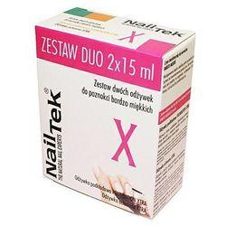 NAIL TEK Odżywka NAILTEK XTRA 15 ml + NAIL TEK FOUNDATION XTRA 15 ml ZESTAW