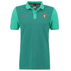 Nike Performance FPF PORTUGAL SLIM FIT Koszulka polo emerald glow/light crimson