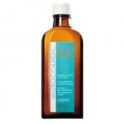 Moroccanoil Treatment Light Naturalny olejek arganowy do włosów cienkich i delikatnych 125 ml