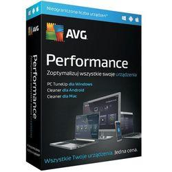 Program AVG Performacne Multidevice (Subskrypcja 1 rok) + DARMOWY TRANSPORT!