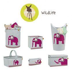 Lassig Skrzynia zamykana na zabawki Wildlife Słoń