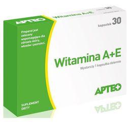 Witamina A + E APTEO kaps. - 30 kaps. (2 x15)