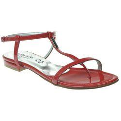 Sandały Zodiaco A012 Coral - Czerwony