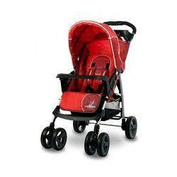 Wózek spacerowy CARETERO Monaco czerwony + DARMOWY TRANSPORT! + Zamów z DOSTAWĄ JUTRO!