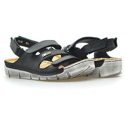 Sandały Carini B2852 Czarne lico