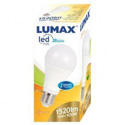 LUMAX LL084P A60 15W-100W E27 2700K ŻARÓWKA LED