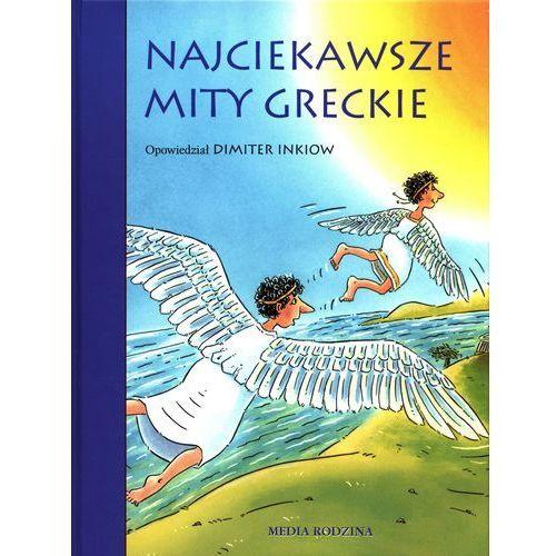 Najciekawsze mity greckie (opr. twarda)