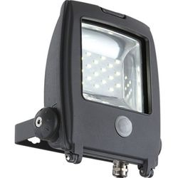 Zewnętrzna LAMPA ścienna PROJECTEUR I 34218S Globo ruchomy PROJEKTOR LED IP65 outdoor z czujnikiem ruchu ciemnoszary