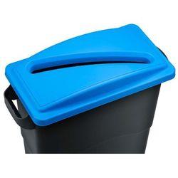 Kosz do segregacji śmieci Ekosort 60L, niebieski